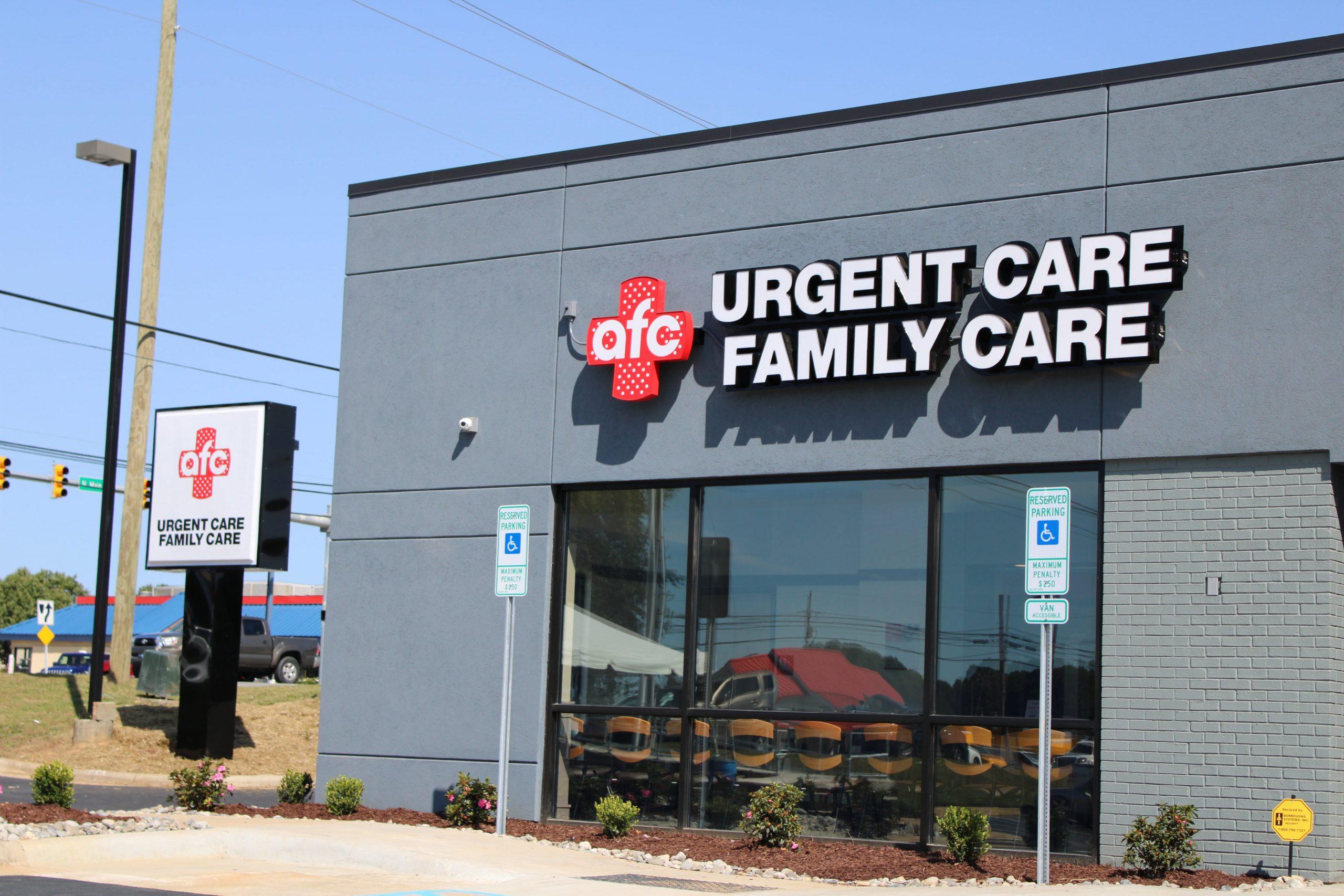 AFC urgent care franchise