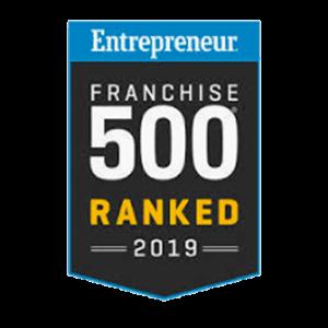 Entrepreneur Franchise 500 - 2019