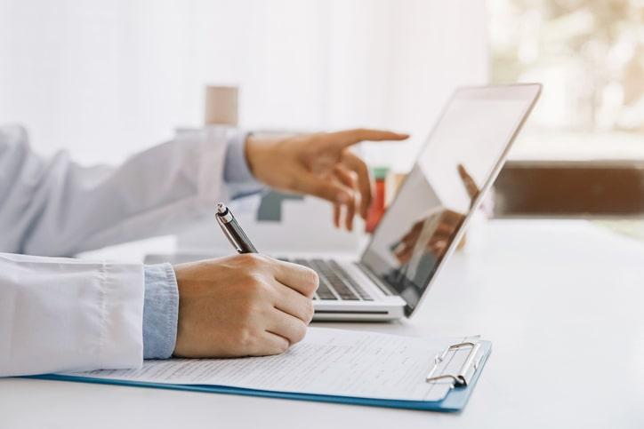 using-laptop